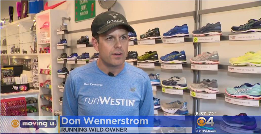 Don Wennerstrom running wild
